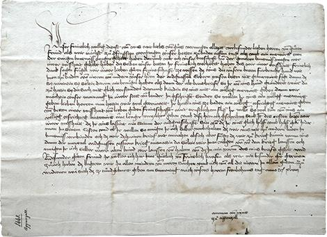 Brief von Ammann und Landleuten von Appenzell an Luzern mit der Bitte um nochmaliges Eingehen auf ihr Anliegen