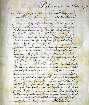Brief: Dank eines ehemaligen Bewohners