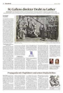 St. Gallens direkter Draht zu Luther