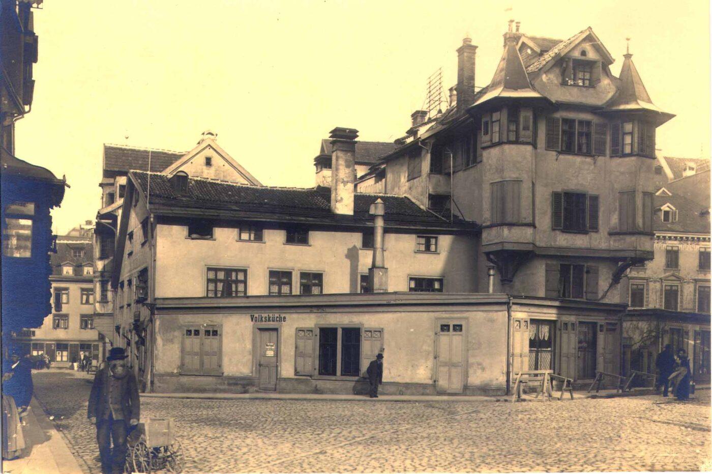 2019 und 1901-1902: Altstadt, Gallusstrasse