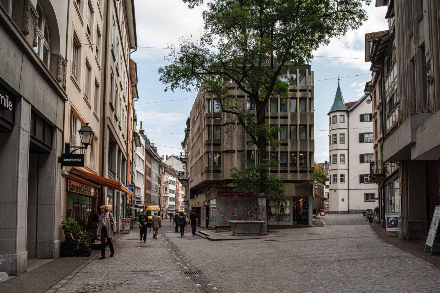 2019 und 1944: Altstadt, Neugasse