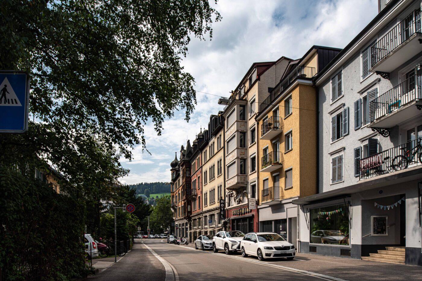2019 und 1925: Altstadt, Unterer Graben