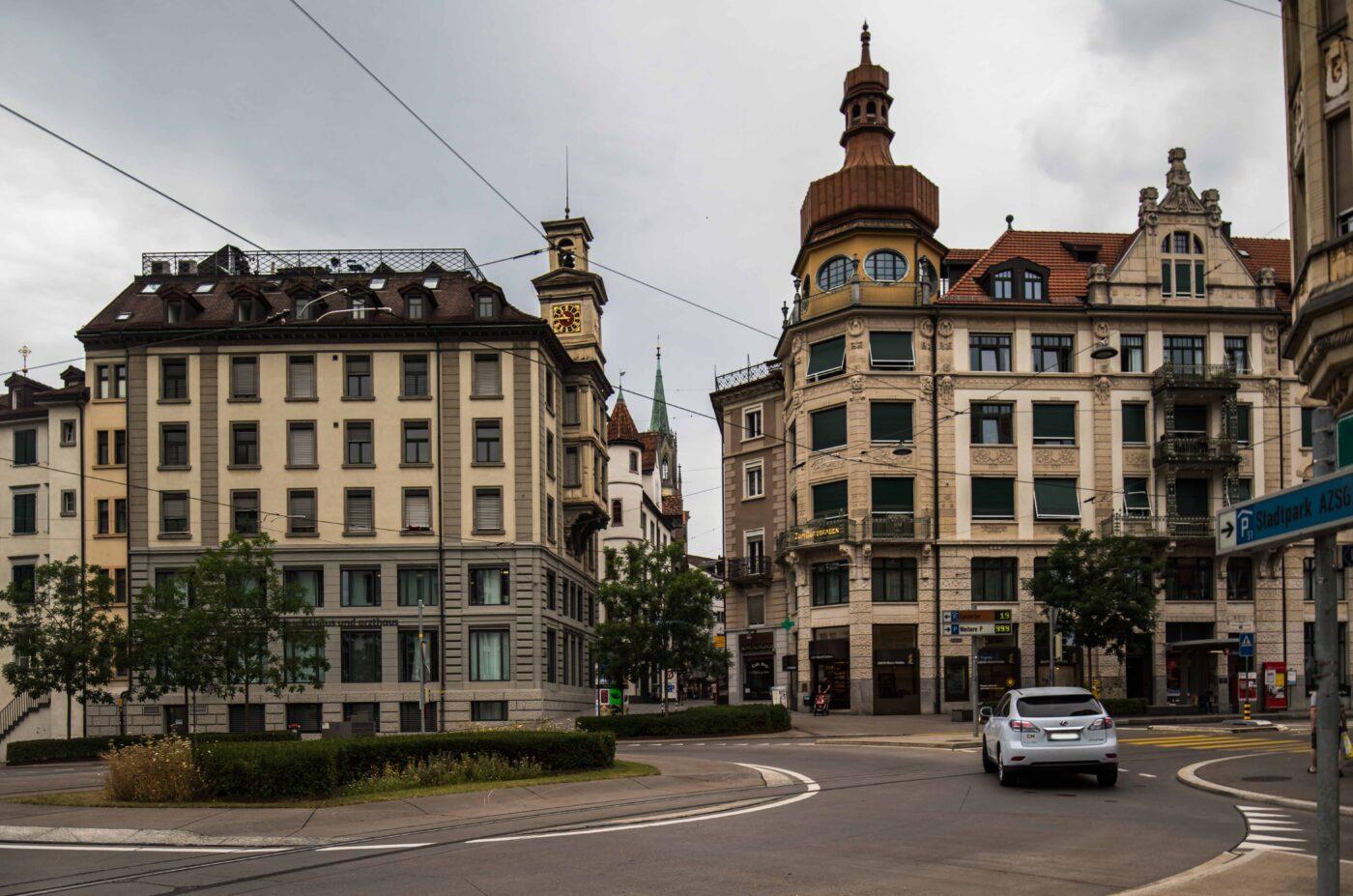 2019 und 1933: Altstadt, Spisertor