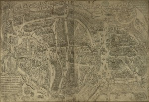 Melchior Frank-Plan, 1596.