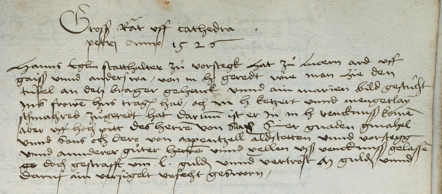 Den Teufel an den Pranger gehängt – Vorwürfe an das reformierte St. Gallen
