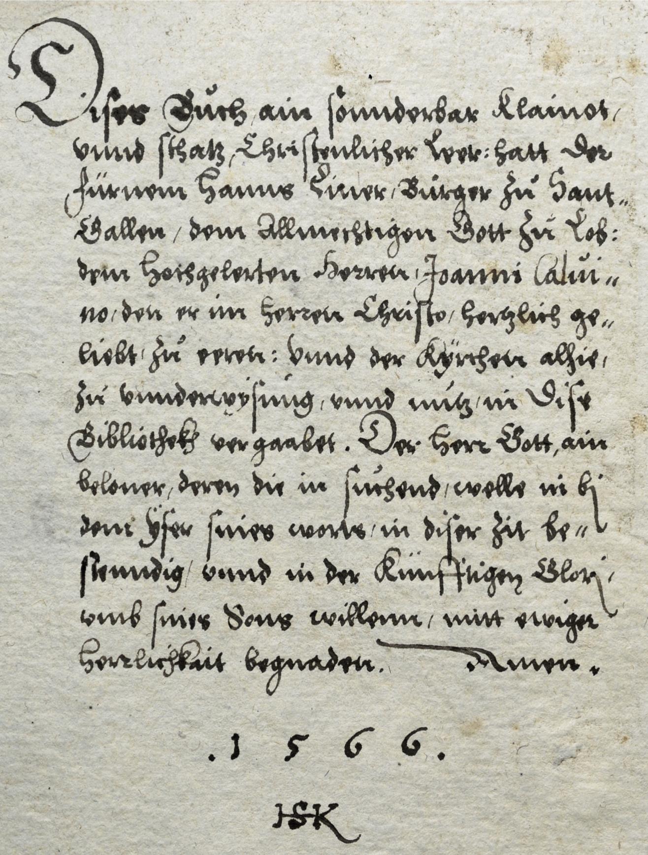 Buch und Tuch: Der Kaufmann Hans Liner fördert die Reformation
