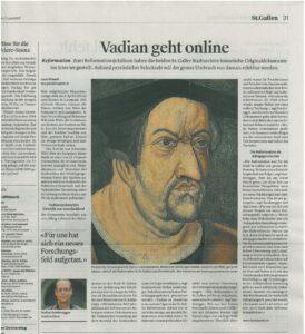 Vadian geht online