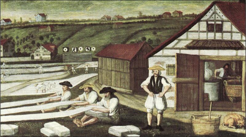 Bedeutendste Leinenhandelsstadt im Bodenseegebiet | Jahr 1450