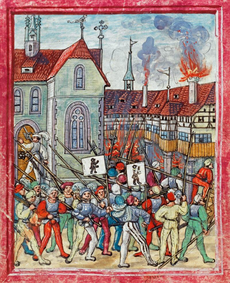 Rorschacher Klosterbruch | Jahr 1489