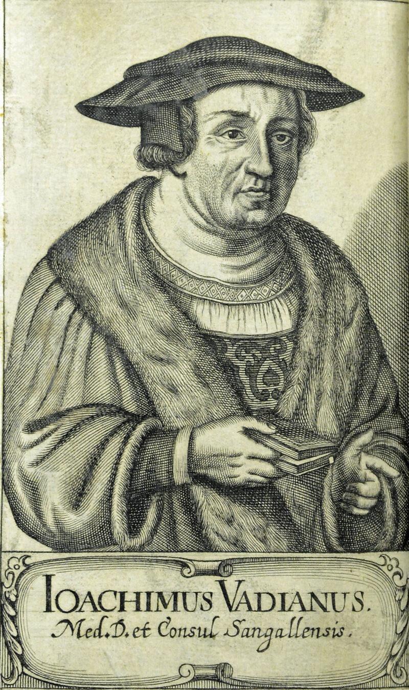 Vadian wird zum Bürgermeister von St. Gallen gewählt | Jahr 1526