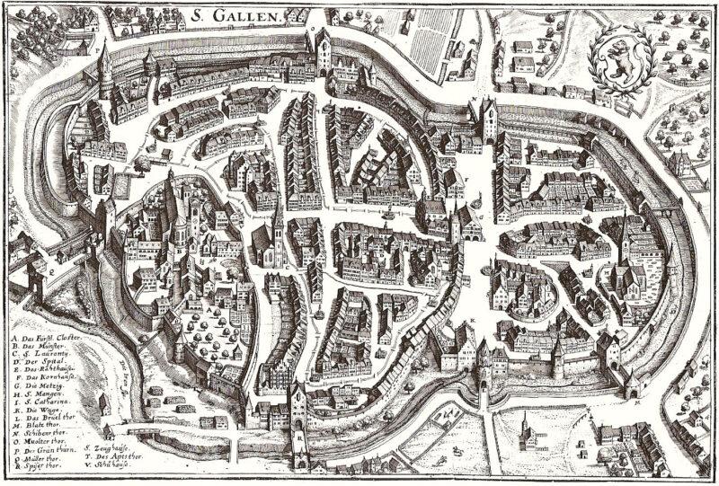 Die Stadt zählt 6'000 Menschen | Jahr 1650