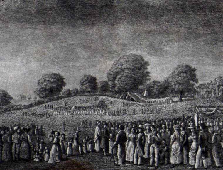 Das erste Kinderfest erfreut Jung und Alt | Jahr 1824