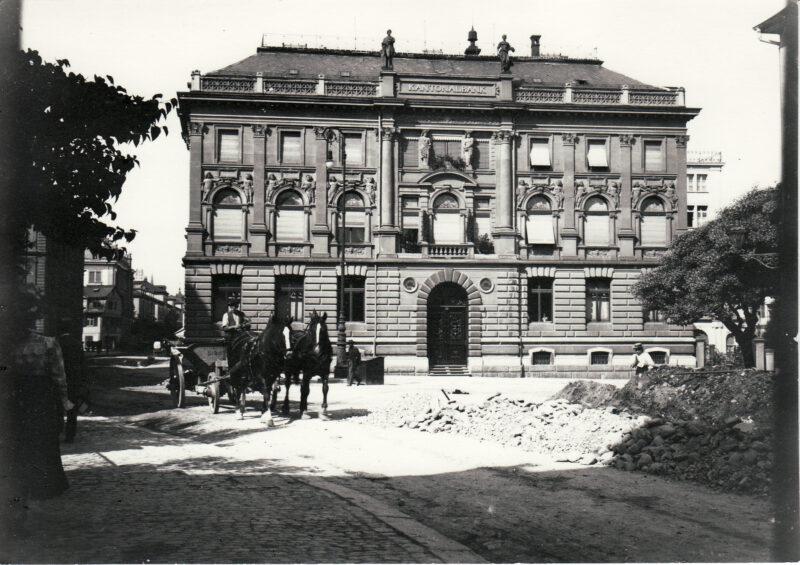 Bankgründungen, u.a. St. Gallische Creditanstalt (heute acrevis) und St. Galler Kantonalbank | Jahr 1854