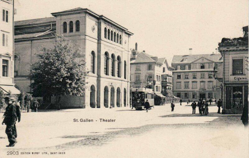 Einweihung des Theatergebäudes am Bohl | Jahr 1857