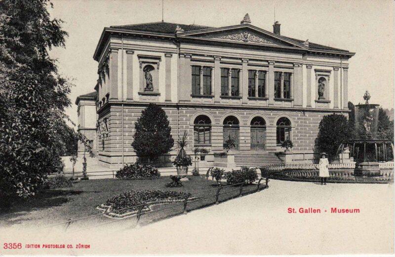 Einweihung des ersten Museums der Stadt St. Gallen | Jahr 1873