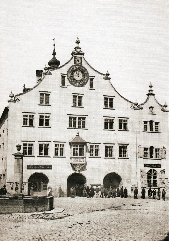 Abbruch des alten Rathauses | Jahr 1877