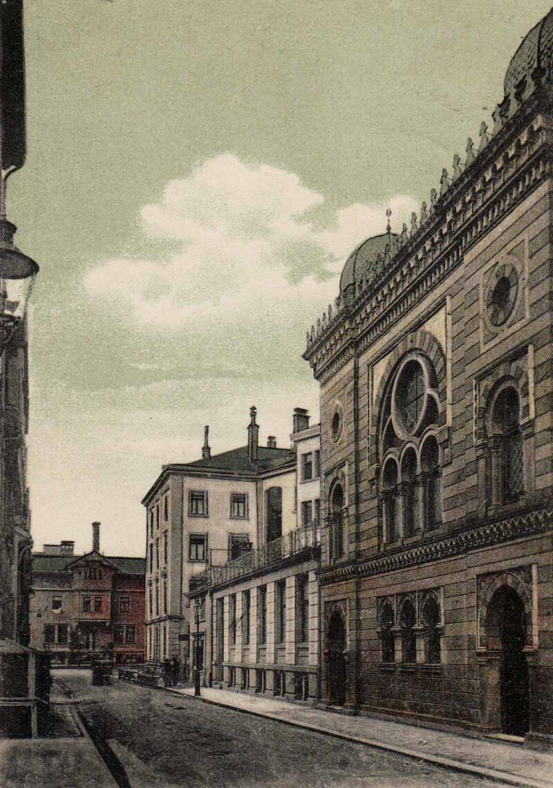 Die Synagoge wird eingeweiht | Jahr 1881