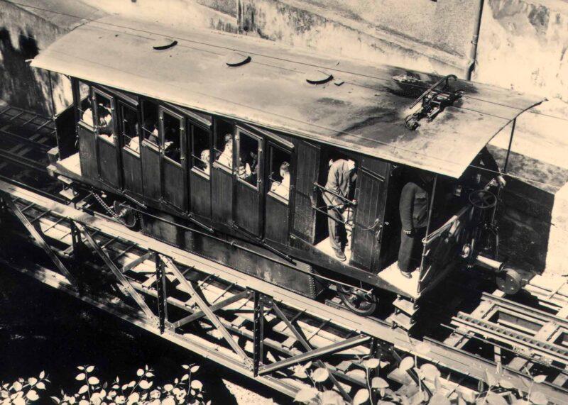 Inbetriebnahme der Mühleggbahn zwischen dem Müllertor und dem Dorf St. Georgen | Jahr 1893