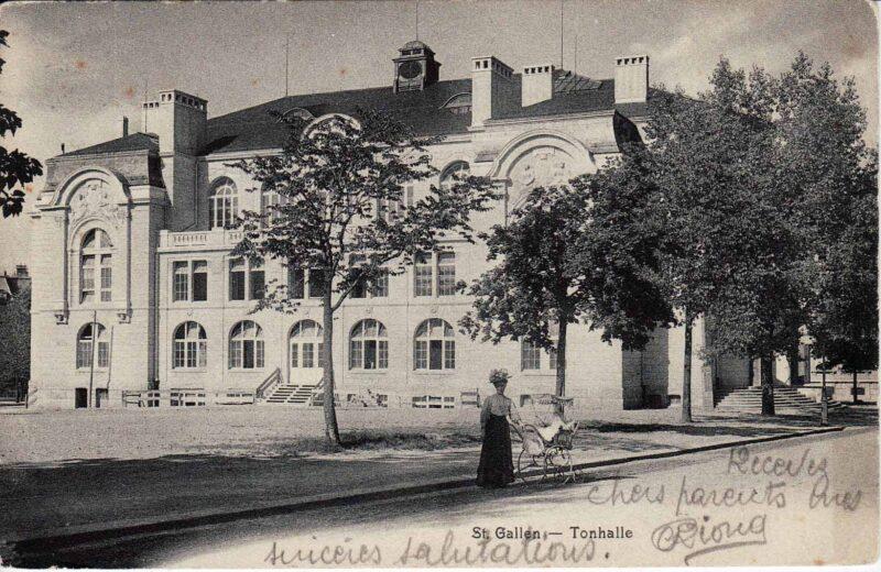 Einweihung der Tonhalle in St. Gallen | Jahr 1909