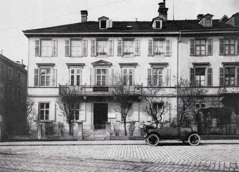 Die Zentrale der schweizerischen Raiffeisenkassen wird in St. Gallen eröffnet | Jahr 1912