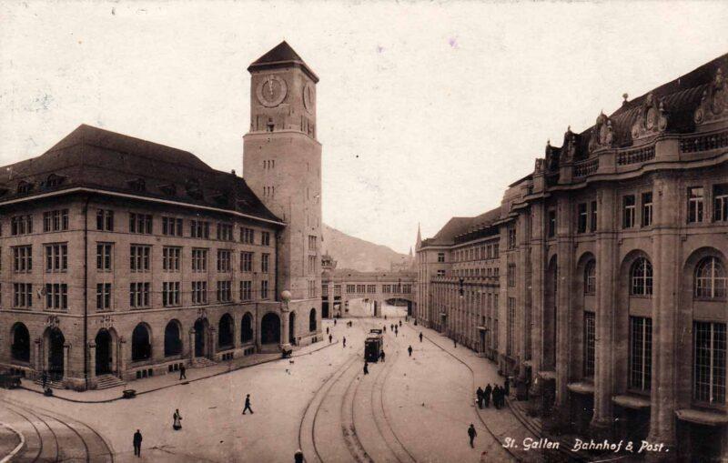 Neuer Hauptbahnhof | Jahr 1913
