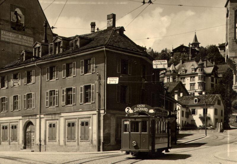 Das St.Galler Tram wird vom Netz genommen | Jahr 1957
