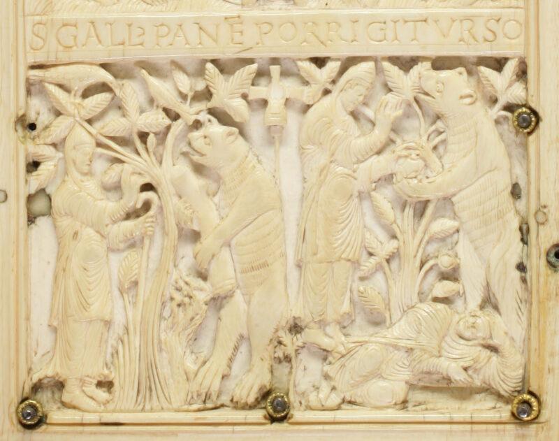 Niederlassung von Gallus im Steinachtobel | Jahr 612