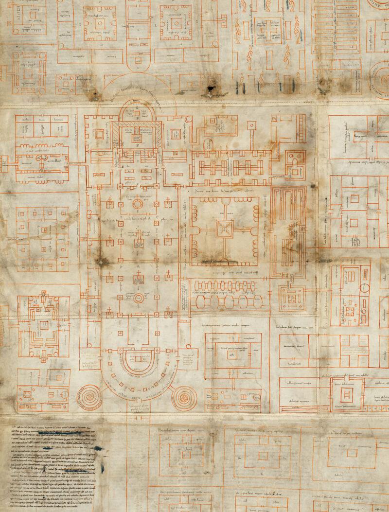 Bau des karolingischen Münsters durch Abt Gozbert | Jahr 837