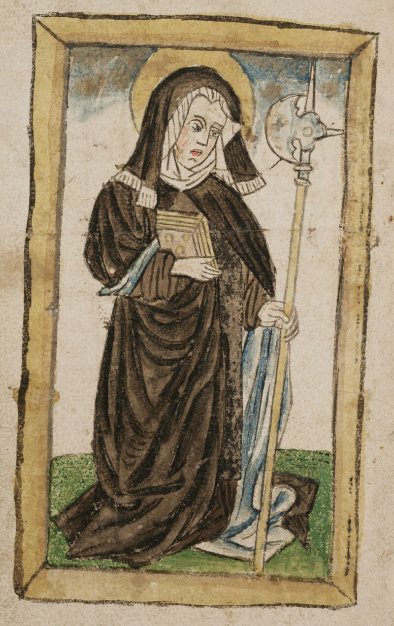 Stiftung der Magnus-Kirche (St. Mangen) und das Martyrium Wiboradas | Jahr 898
