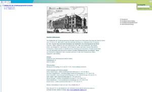 Ansicht Findbuch Startseite
