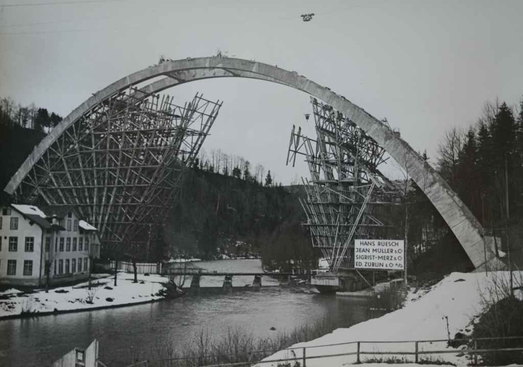Ansicht Fürstenlandbrücke