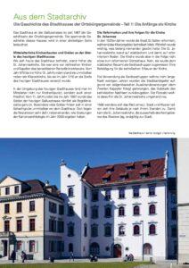 Die Geschichte des Stadthauses der Ortsbürgergemeinde – Teil 1: Die Anfänge als Kirche
