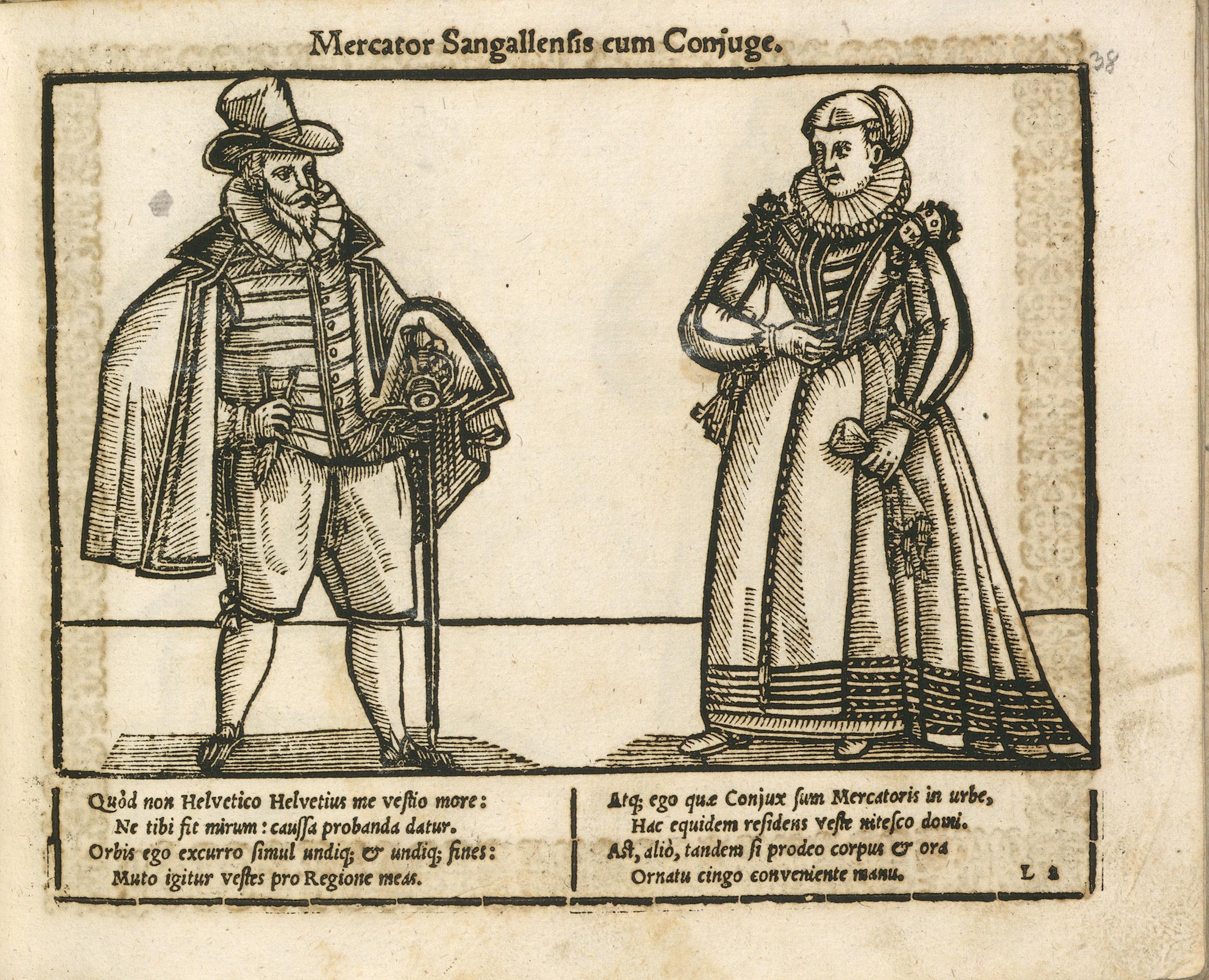 Kleider machen Leute – Das Trachtenbuch von Georg Straub, St.Gallen 1600