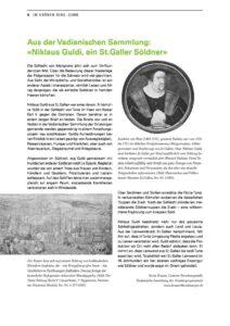Niklaus Guldi, ein St. Galler Söldner