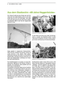 80 Jahre Haggenbrücke