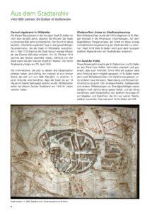 Vor 600 Jahren: St. Gallen in Vollbrand