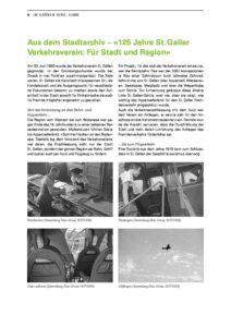 125 Jahre St. Galler Verkehrsverein: Für Stadt und Region
