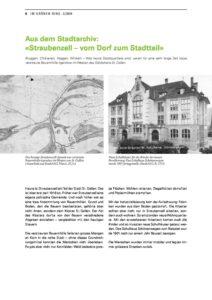 Straubenzell – vom Dorf zum Stadtteil