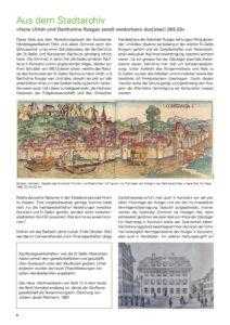 Hans Ulrich und Bartholme Rueger, sendt verdorbenn duc[aten] 285.23